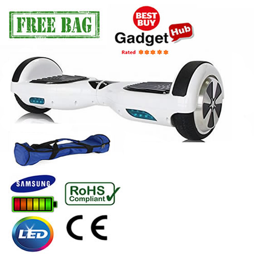 White classic hoverboard