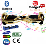 Bluetooth Gold Chrome Hoverboard