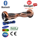 bluetooth bronze chrome hoverboard