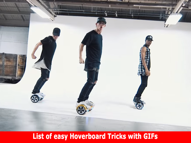 hoverboard tricks