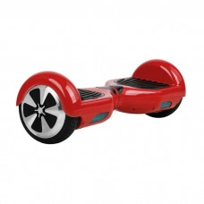 A Red Bluetooth segway