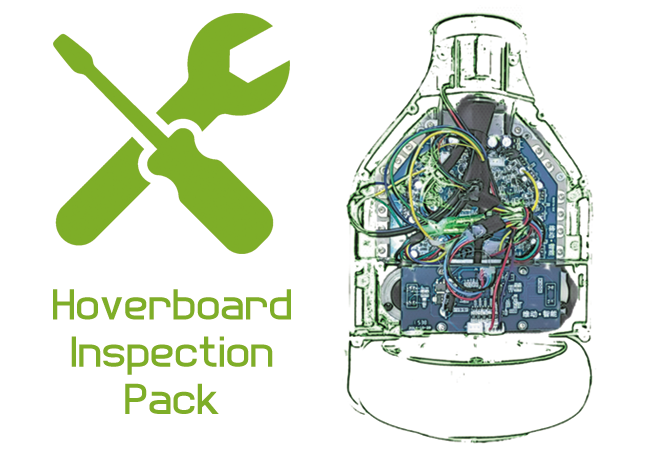 hoverboard inspection pack