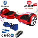 A classic red bluetooth hoverboard