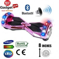 8inch-pink-chrome-bluetooth-segway - Copy