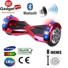 8inch-red-chrome-bluetooth-segway - Copy