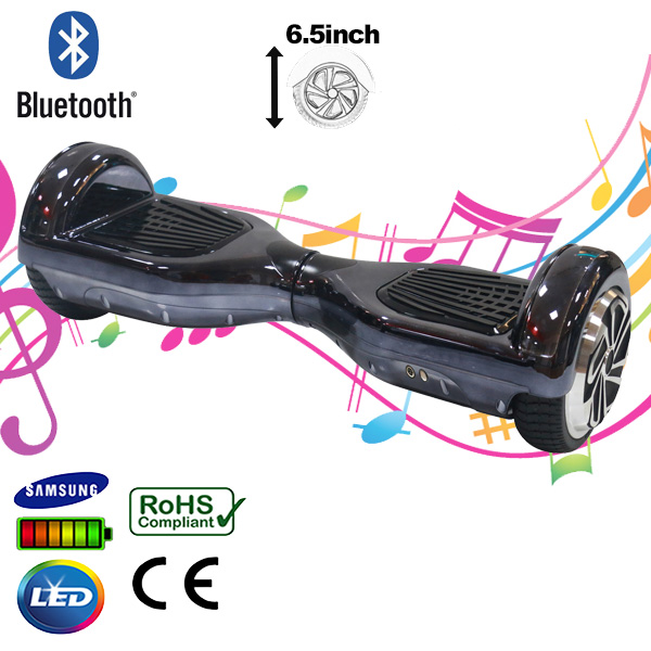 black-segway-bluetooth