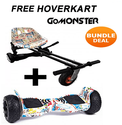 FREE Suspension Hoverkart with All Graffiti 8 5