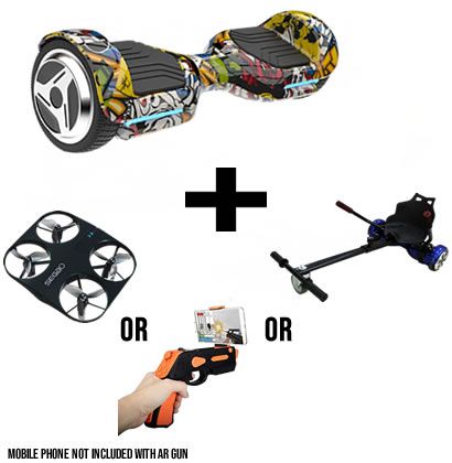 G1 Hip Hop Segway Hoverboard Bundle